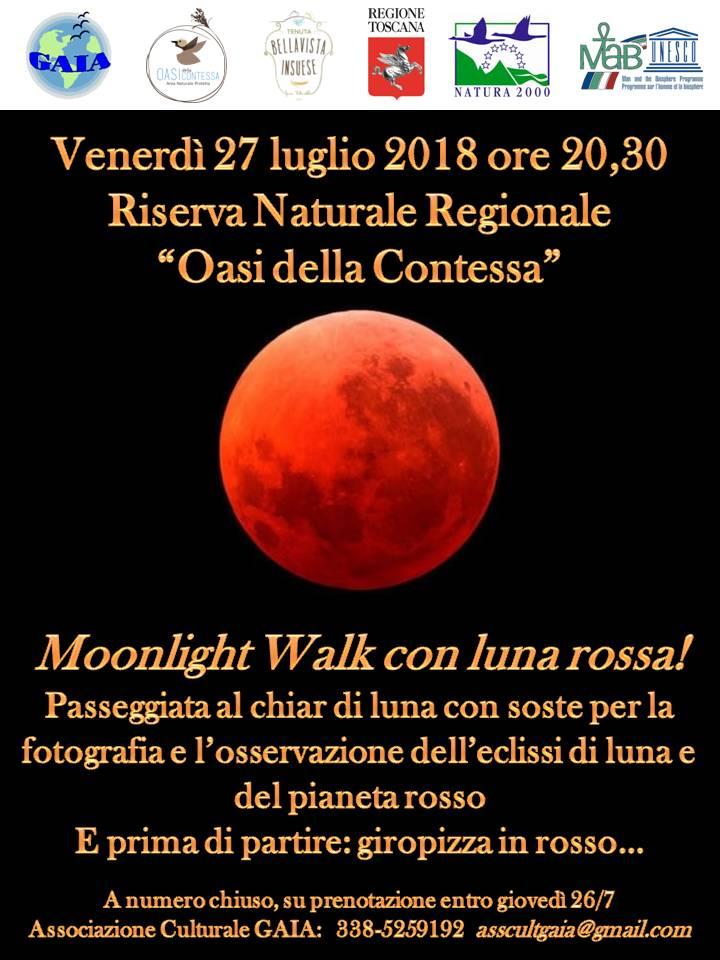 moonlight walk 27luglio2018